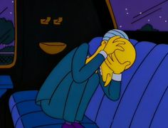 """burns"""" - The Simpsons Way of Life Burns, Simpsons Meme, Goat Cartoon, Travis Scott Wallpapers, Lil Black, Funny Reaction Pictures, Cartoon Icons, Days Of Our Lives, Batman"""