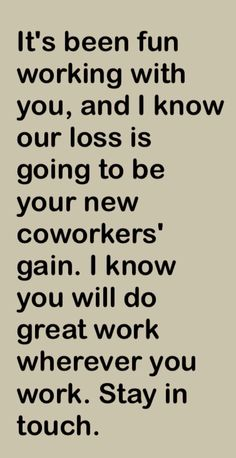 Co Worker Leaving Google Search Sayings Pinte