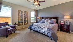 The Master Suite is of course one of the most important parts of the home, it is YOUR sanctuary! ^KL