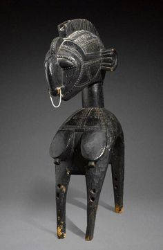 "Africa | ""d'mba / yamban"" shoulder mask from the Baga people of the Guinea Coast, Guinea 