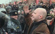 """Manifestation anti-Poutine filmée dans le film """"Winter go away !"""""""