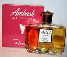 Ambush - the first cologne I wore that was mine (not borrowed from sister or Mother)