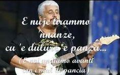 Pino Daniele - 'Na Tazzulella 'e cafe' - frase