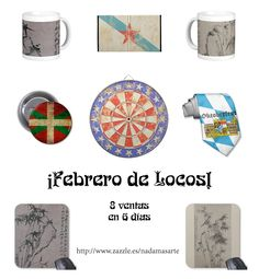 NadaMas Arte: ¡Febrero de locos! Deviantart, Design, Personalized Mugs, February, Art, Design Comics
