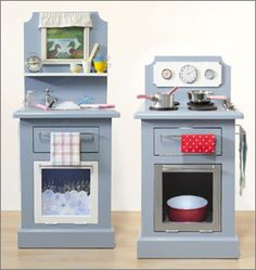 Create this wonderful kitchen just perfect for the little ones, and hours of imaginative play