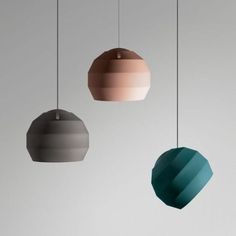 the Pitch Pendant lamp, Handmade by Vitamin.