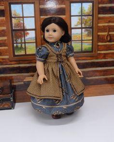 Heritage Leaves  1850's prairie dress and от CupcakeCutiePie