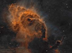 HH 666: Carina Dust Pillar with Jet