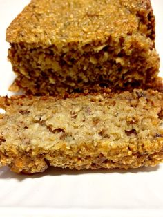 Banana and coconut oat loaf