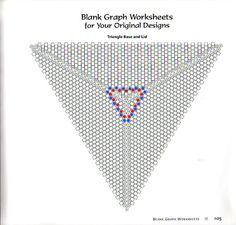 Плетем треугольник 3DМой любимый бисер| Мой любимый бисер