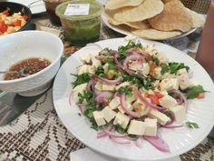 Tofu: Salad and Dressing by Wendy