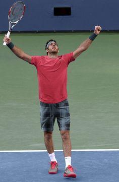 US Open 2013: Juan Martin del Potro