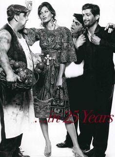 Gisele Bundchen in Dolce&Gabbana Fall Winter 2014 by Steven Meisel, Vogue Italy Cover July 2013 -