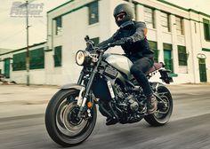 Photos of Yamaha's 2016 XSR900.