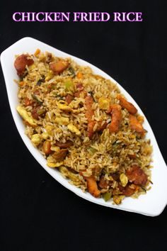 Chicken fried rice i