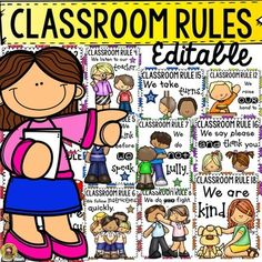 Classroom Rules Poster, Classroom Layout, Classroom Decor, Pre School, School Days, Back To School, Library Rules, Behavior Management Strategies, Class Rules