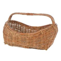 Rattan Elongated Oval Basket Eco Displayware Baskets Decorative Baskets Home Decor.  Place beside fireplace and fill with birch logs.