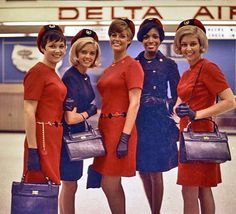 vintage stewardess uniforms - Google Search