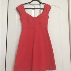 French connection dress Never worn. New with tags. Red French connection dress! French Connection Dresses