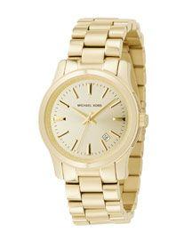 Y09QX Michael Kors Shiny Golden Watch
