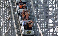 Reach new thrilling heights on our Zeus Rollercoaster! | Mt. Olympus Water & Theme Park Resort | Wisconsin Dells, WI |