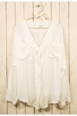 My Laidback Artist in White $42.90  http://www.chicwish.com/my-laidback-artist-in-white.html  #Chicwish