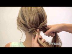 TS teaches you how to... Fishtail Braid Hair Tutorial #Hair #Tutorial