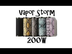 Vapor Storm 200w
