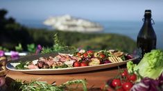 Biff tagliata med pære-, valnøtt- og gorgonzolasalat Frisk, Garam Masala, Lamb, Main Dishes, Dairy, Lunch, Beef, Cheese, Cooking