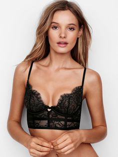 Lace Long Line Bra - Very Sexy - Victoria's Secret