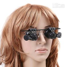 Great starting place for some steampunk goggle DIY http://www.dhgate.com/product/20x-jeweler-watch-repair-magnifying-eye-glasses/136810777.html