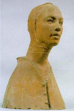 marcson05: 지원의 얼굴(1967), 권진규 The face of the support (1967), gwonjingyu (google translate)