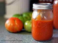 Have you ever had a whole bunch of tomatoes sitting in your fridge or on your counter that you had no way to possibly eat all of them before they went bad? Here is my homemade tomato sauce recipe.