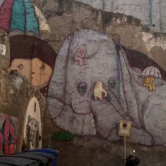 Painting I found on a wall in Tarragona, Spain