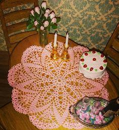 Miniature crochet by Ann.