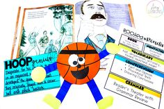 Students get ready for March Madness with the book, Hoop Genius, and some fun activities!