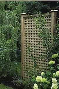 garden design with trellis - Google Search