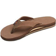 d28082259cef8 Rainbow Sandals Women s Premier Leather Double Layer Wide Strap