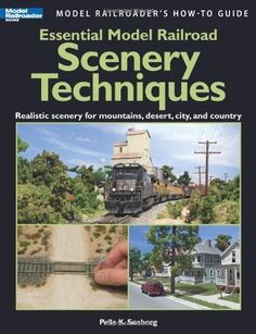 Essential Model Railroad Scenery Techniques (Model Railroader's How-To Guide) by Pelle K Soeborg, http://www.amazon.com/dp/0890247366/ref=cm_sw_r_pi_dp_4jp1rb1JFDQWD