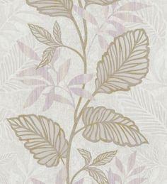 Papel pintado enredadera de hojas estilo moderno - 1143126