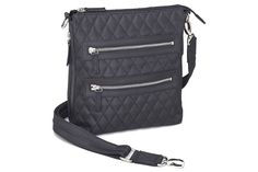 Gun Tote'N Mama Quilted Cross Body Sac Concealed Carry Purse #carryclassy #concealedcarrypurse #concealedcarry