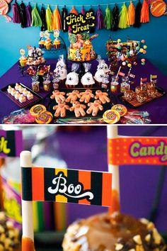 Mesas de doces para festa infantil 4