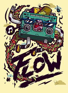 Doodle Art, Graphic Design Illustration, Illustration Art, Arte Lowbrow, Ps Wallpaper, Banana Art, Illustrations And Posters, Graffiti Art, Cartoon Art