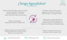 ¿Sabes lo que es la #AGORAFOBIA?  #Ansiedad #Miedo #Pánico #CrisisdeAnsiedad #TrastornodePánico #TrastornosEmocionales #Psicologia #PsicologiaOnline #Psicoemocionate