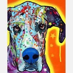 Cão centrado