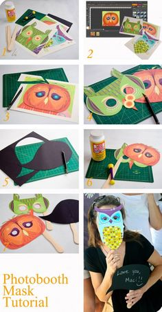 Owl masks for pictures/decorating activity?