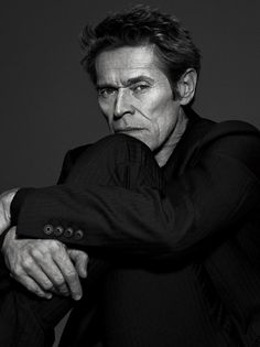 Willem Dafoe para L'uomo Vogue Italia Septiembre 2014