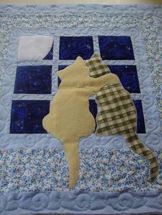Studio da Berê: Capa de almofada de gatos