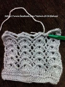 This Pin was discovered by NK. Crochet Stitches Patterns, Lace Patterns, Crochet Designs, Stitch Patterns, Crochet Lace, Crochet Projects, Free Pattern, Diy And Crafts, Knitting