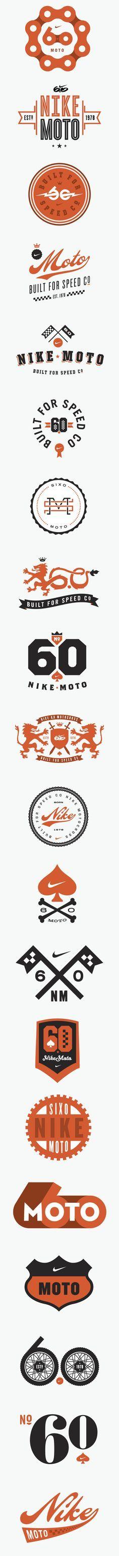 Nike 6.0 Motocross Logos    bike vintage chain sports yadda yadda yadda                                                                                                                                                                                 More